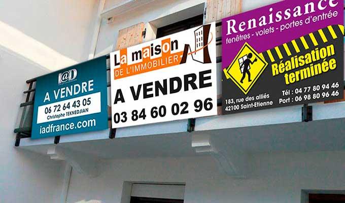 pancartes publicitaires